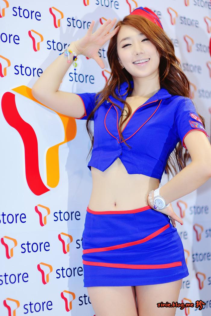 Showgirl G-star 2012: Lee Sung Hwa - Ảnh 25