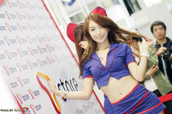 Showgirl G-star 2012: Lee Sung Hwa - Ảnh 39