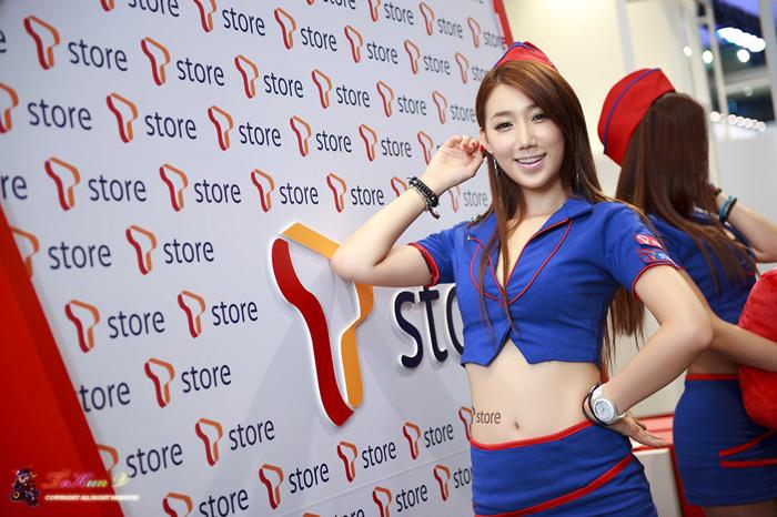 Showgirl G-star 2012: Lee Sung Hwa - Ảnh 50