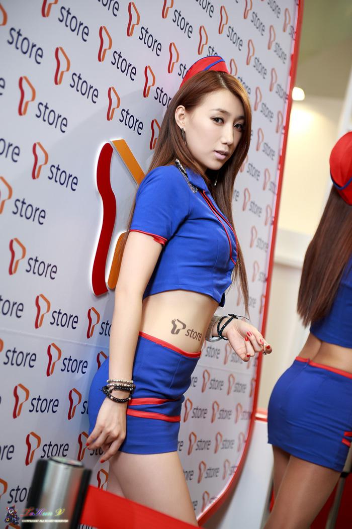 Showgirl G-star 2012: Lee Sung Hwa - Ảnh 52