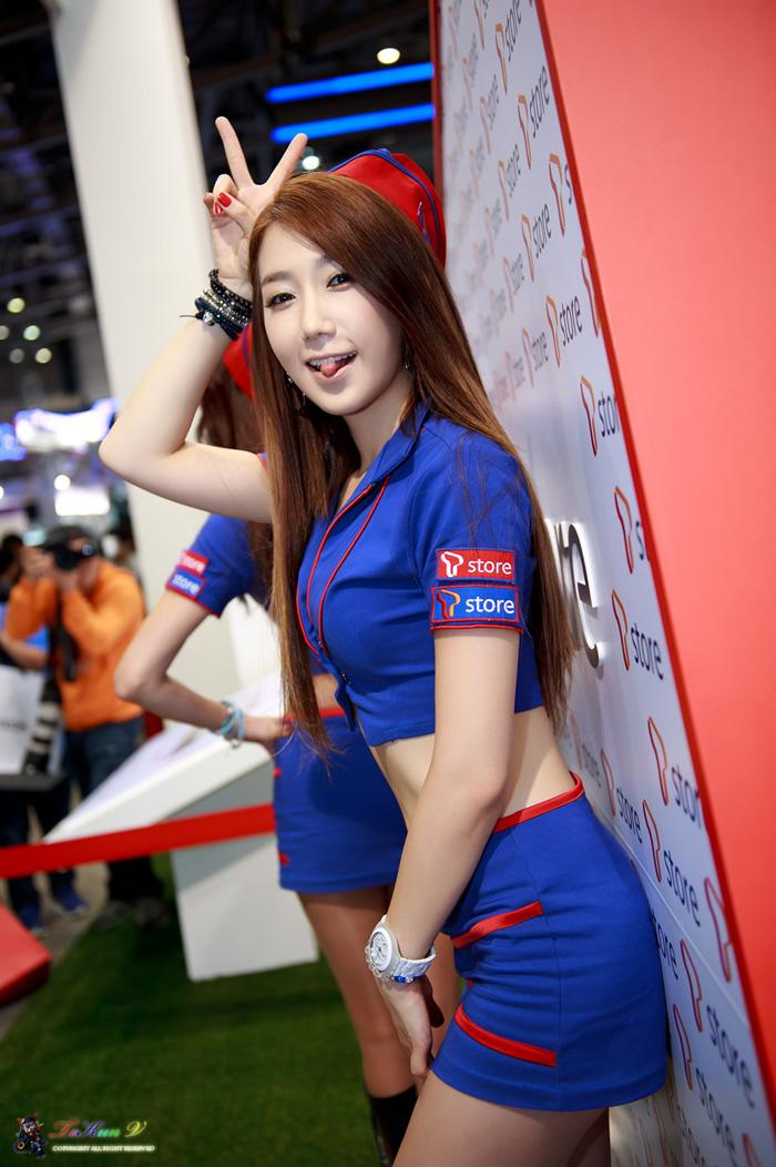 Showgirl G-star 2012: Lee Sung Hwa - Ảnh 53