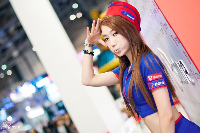 Showgirl G-star 2012: Lee Sung Hwa - Ảnh 57
