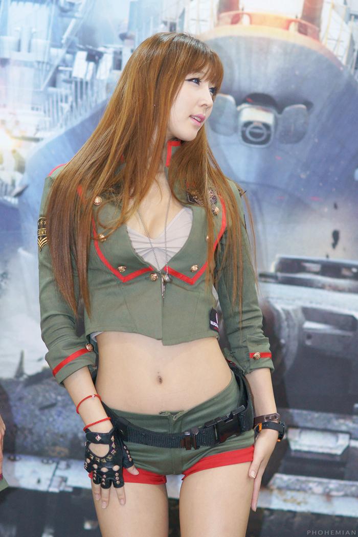 Showgirl G-star 2012: Lee Yoo Eun - Ảnh 1