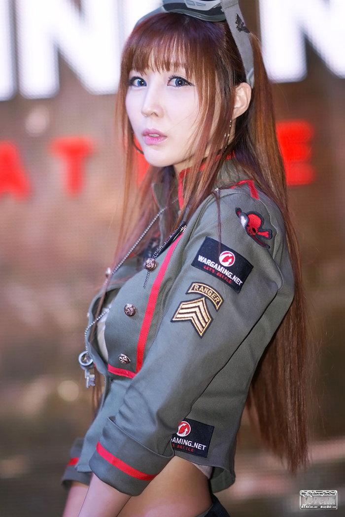 Showgirl G-star 2012: Lee Yoo Eun - Ảnh 7