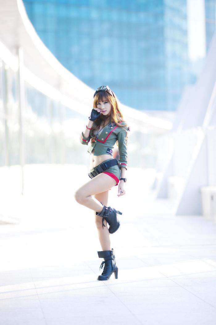 Showgirl G-star 2012: Lee Yoo Eun - Ảnh 8