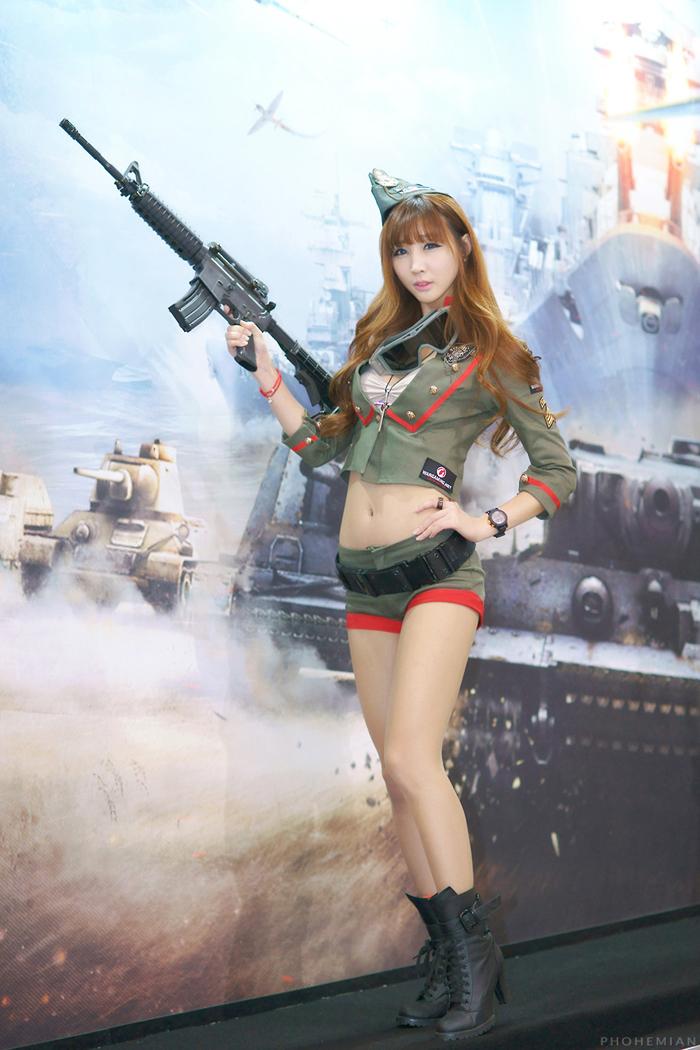 Showgirl G-star 2012: Lee Yoo Eun - Ảnh 9