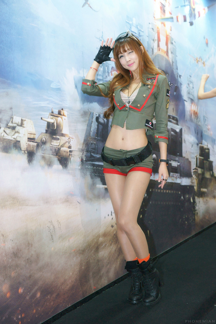 Showgirl G-star 2012: Lee Yoo Eun - Ảnh 15