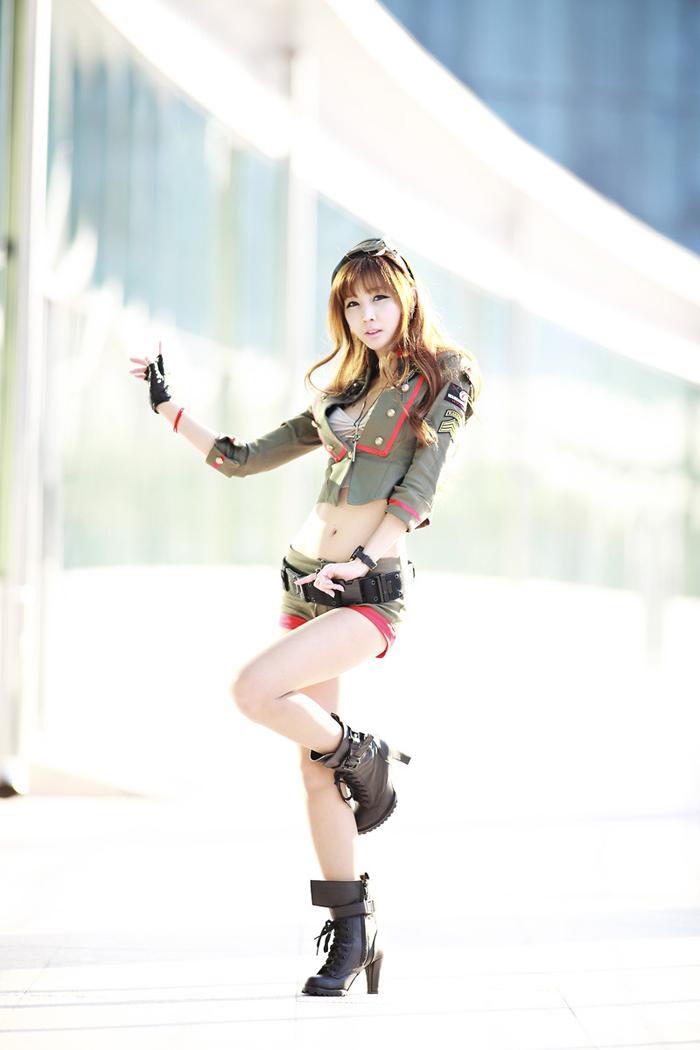 Showgirl G-star 2012: Lee Yoo Eun - Ảnh 16