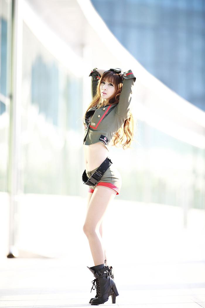 Showgirl G-star 2012: Lee Yoo Eun - Ảnh 21