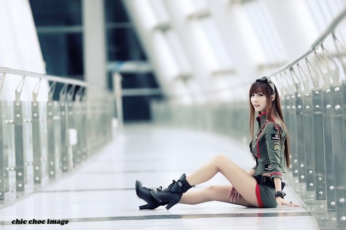 Showgirl G-star 2012: Lee Yoo Eun - Ảnh 24