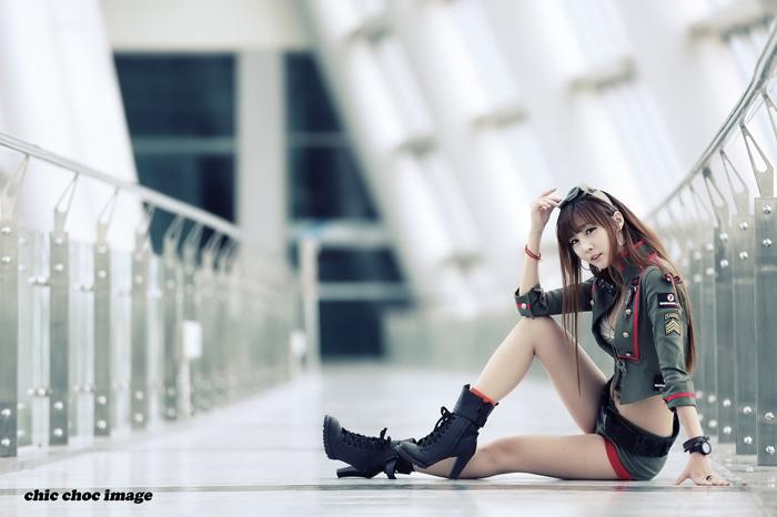 Showgirl G-star 2012: Lee Yoo Eun - Ảnh 27