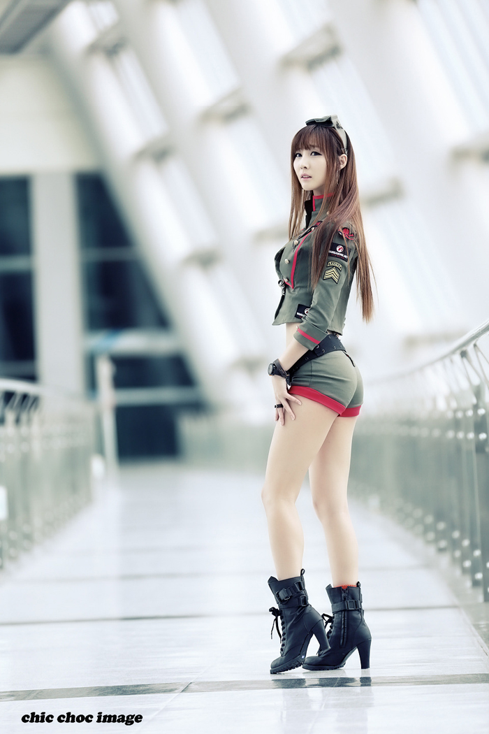 Showgirl G-star 2012: Lee Yoo Eun - Ảnh 31