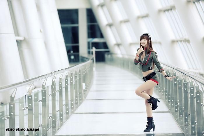 Showgirl G-star 2012: Lee Yoo Eun - Ảnh 35