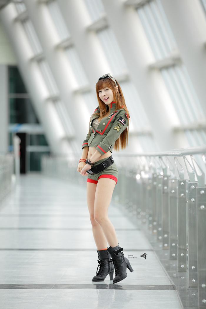 Showgirl G-star 2012: Lee Yoo Eun - Ảnh 45
