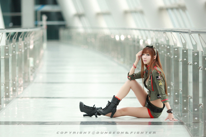 Showgirl G-star 2012: Lee Yoo Eun - Ảnh 67