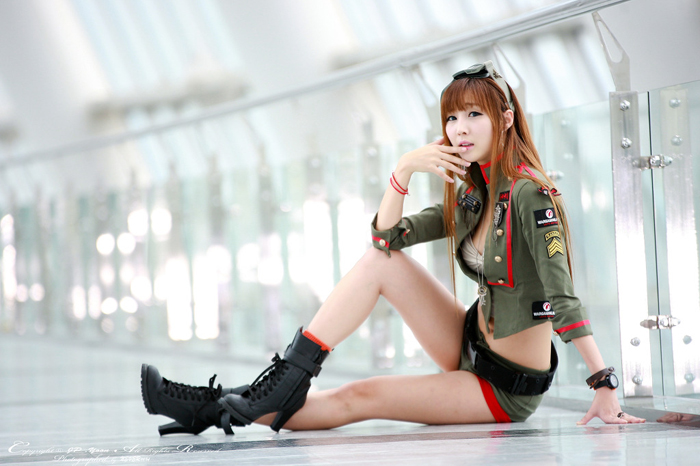 Showgirl G-star 2012: Lee Yoo Eun - Ảnh 76