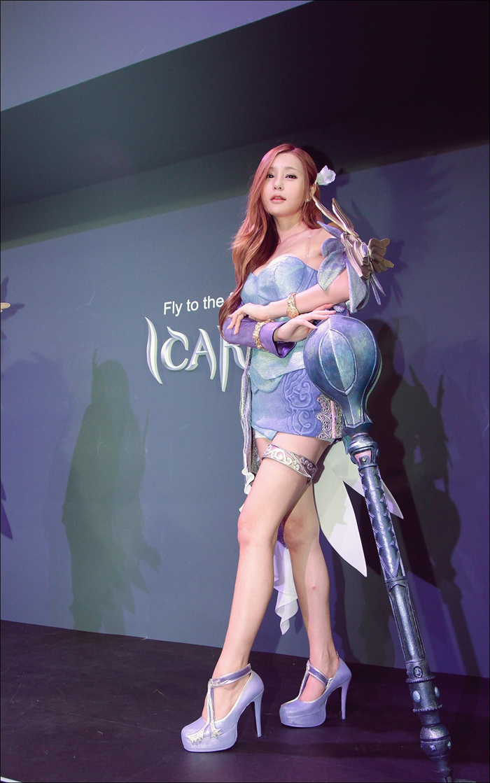 Showgirl G-star 2012: Park Soo Yu - Ảnh 3