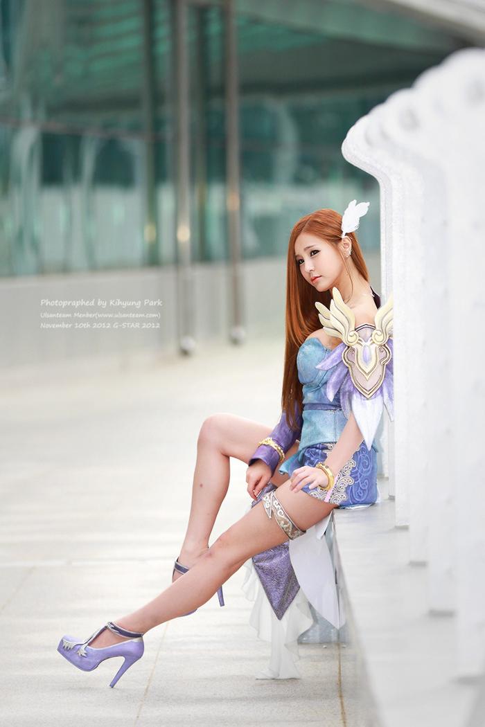 Showgirl G-star 2012: Park Soo Yu - Ảnh 4