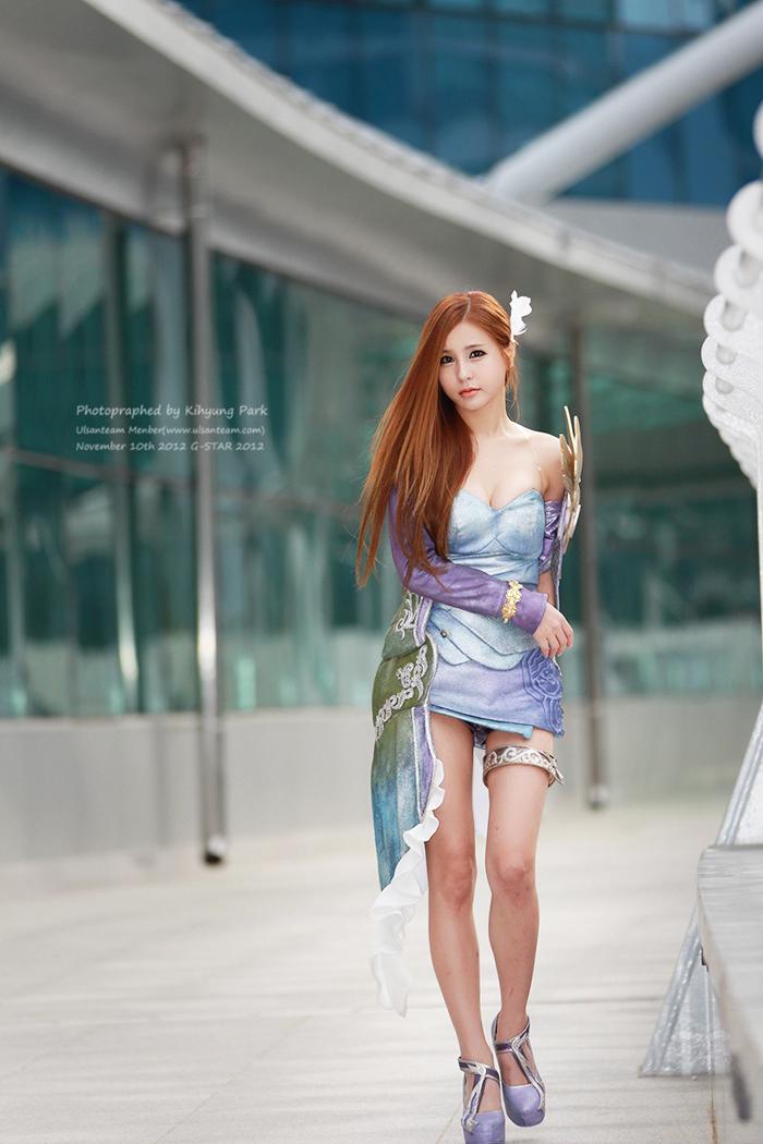 Showgirl G-star 2012: Park Soo Yu - Ảnh 6