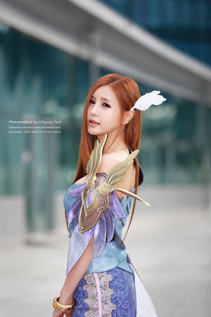 Showgirl G-star 2012: Park Soo Yu - Ảnh 7