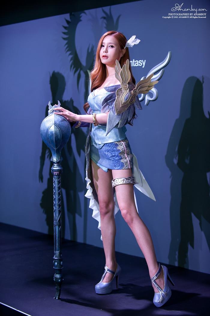 Showgirl G-star 2012: Park Soo Yu - Ảnh 24