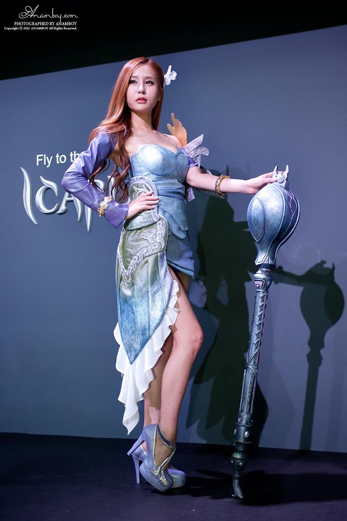Showgirl G-star 2012: Park Soo Yu - Ảnh 27