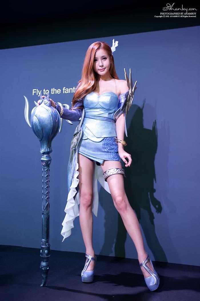 Showgirl G-star 2012: Park Soo Yu - Ảnh 29