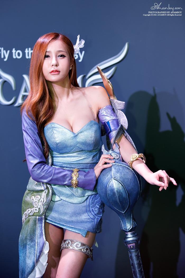 Showgirl G-star 2012: Park Soo Yu - Ảnh 32
