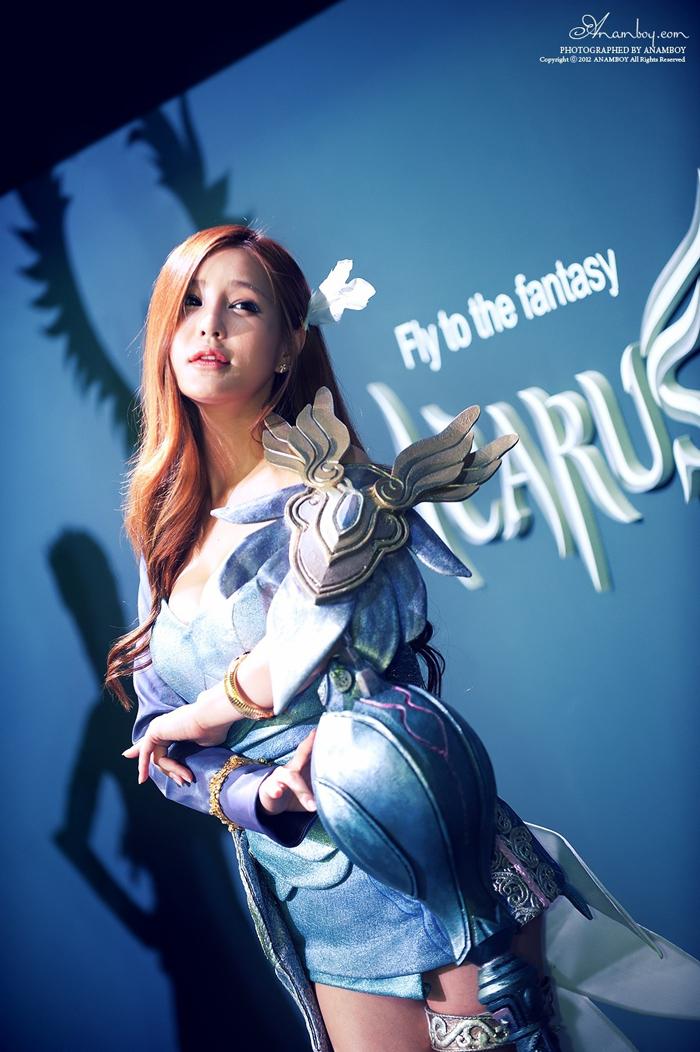 Showgirl G-star 2012: Park Soo Yu - Ảnh 36