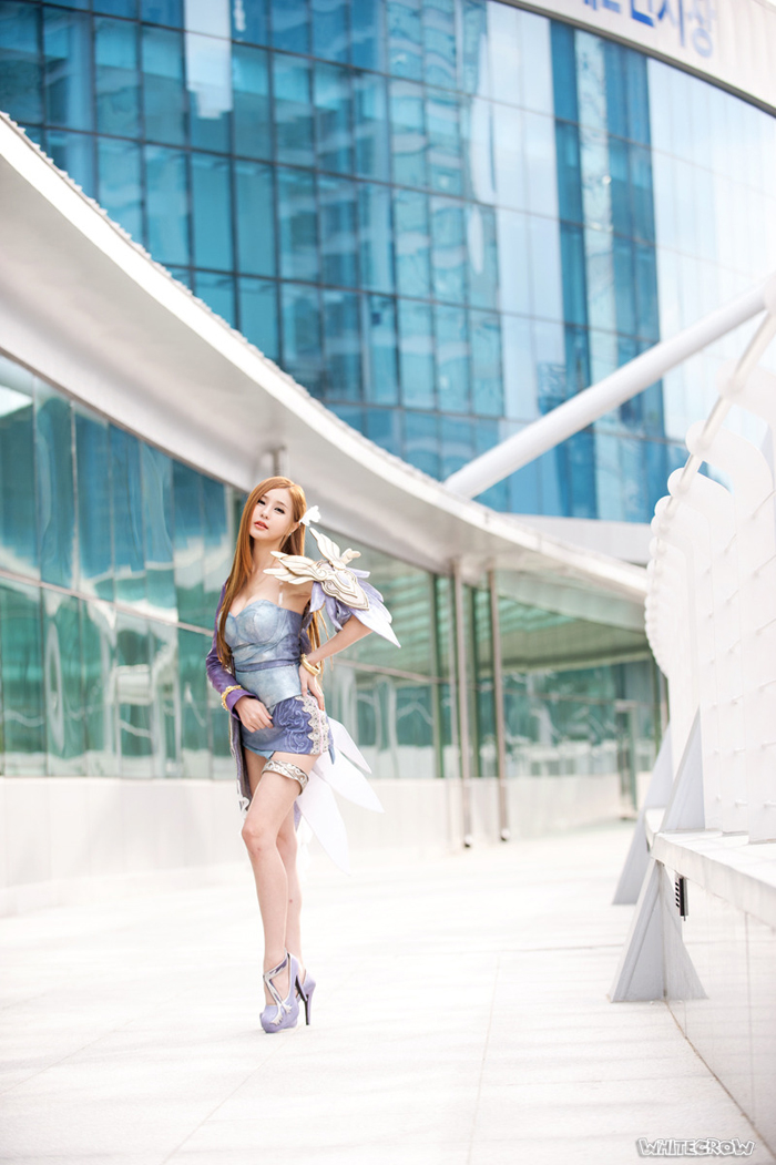 Showgirl G-star 2012: Park Soo Yu - Ảnh 40