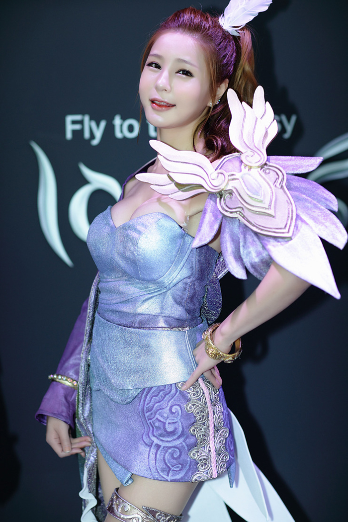 Showgirl G-star 2012: Park Soo Yu - Ảnh 54