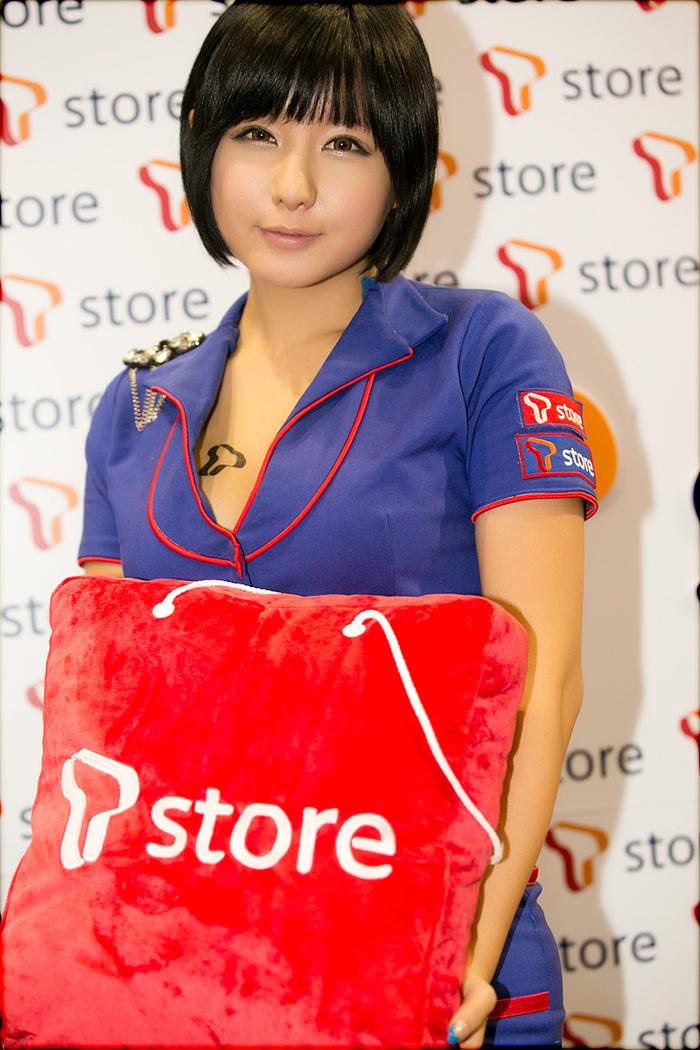 Showgirl G-star 2012: Ryu Ji Hye - Ảnh 2