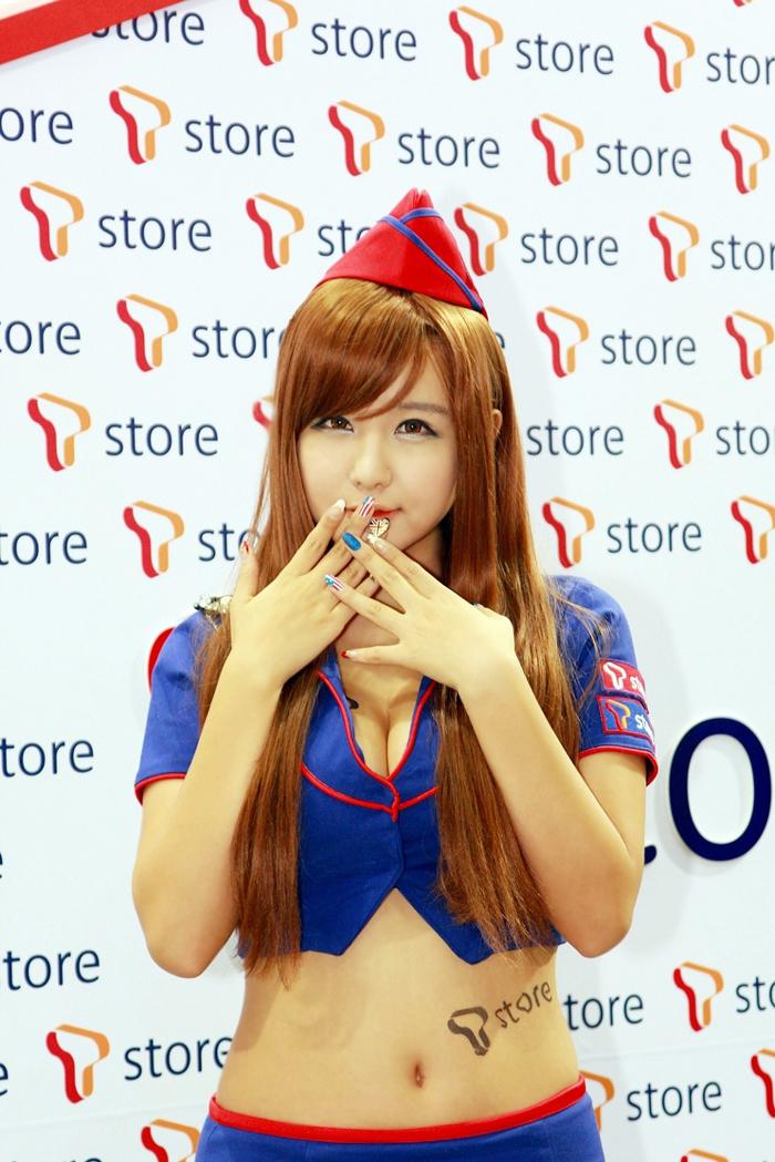 Showgirl G-star 2012: Ryu Ji Hye - Ảnh 17
