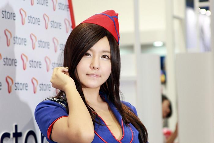 Showgirl G-star 2012: Ryu Ji Hye - Ảnh 31