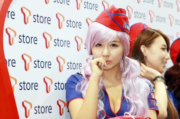 Showgirl G-star 2012: Ryu Ji Hye - Ảnh 33