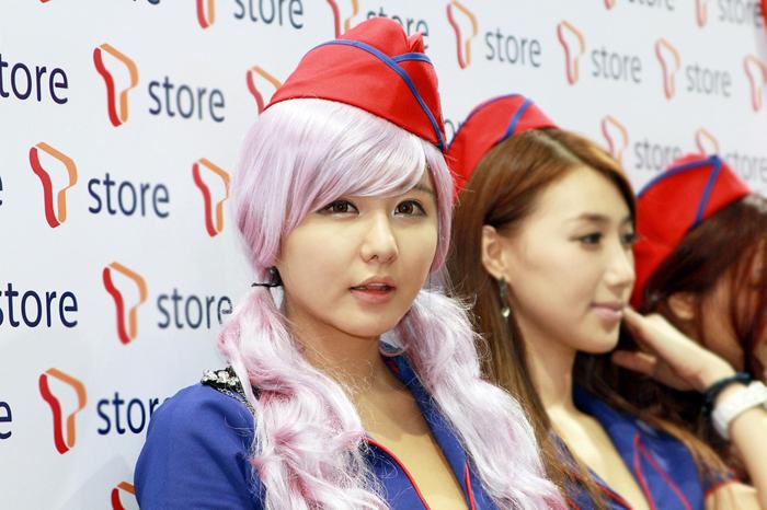 Showgirl G-star 2012: Ryu Ji Hye - Ảnh 35