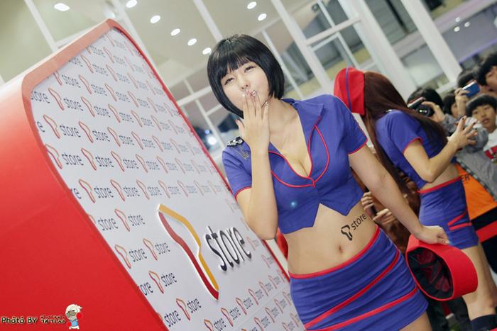 Showgirl G-star 2012: Ryu Ji Hye - Ảnh 54