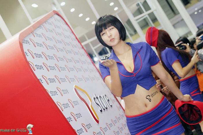 Showgirl G-star 2012: Ryu Ji Hye - Ảnh 61
