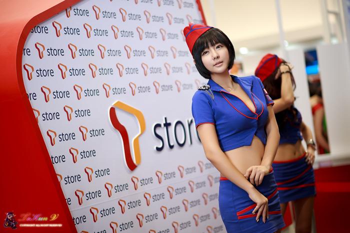 Showgirl G-star 2012: Ryu Ji Hye - Ảnh 66