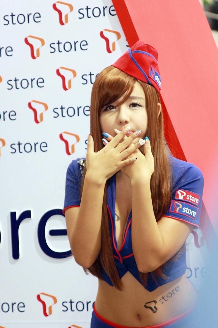 Showgirl G-star 2012: Ryu Ji Hye - Ảnh 81