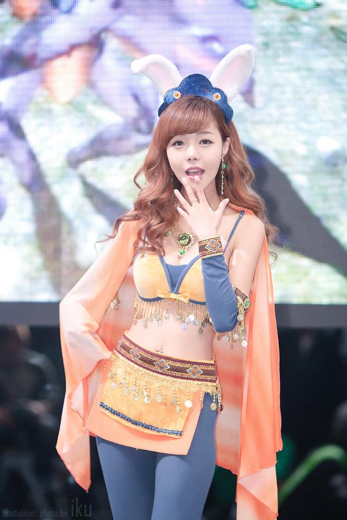 Showgirl G-star 2012: Seo Ji Ah - Ảnh 4