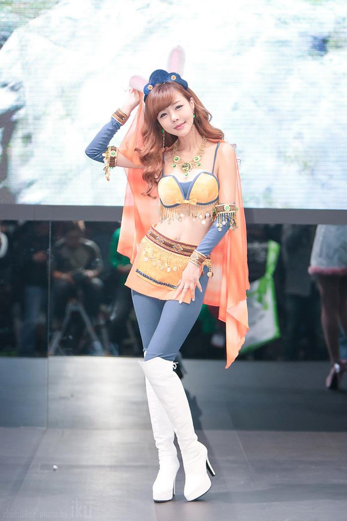 Showgirl G-star 2012: Seo Ji Ah - Ảnh 5