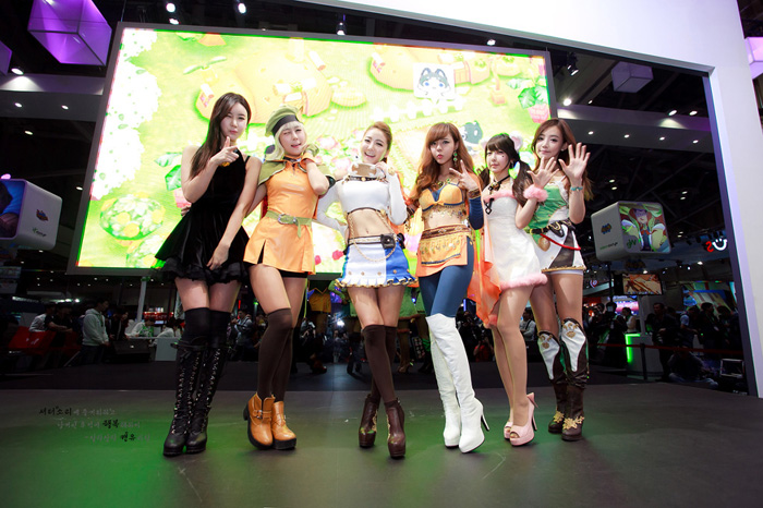 Showgirl G-star 2012: Seo Ji Ah - Ảnh 9