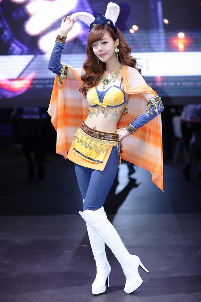 Showgirl G-star 2012: Seo Ji Ah - Ảnh 160