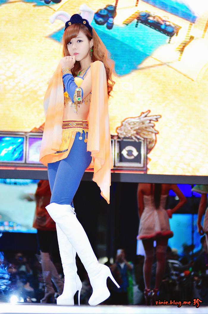 Showgirl G-star 2012: Seo Ji Ah - Ảnh 17