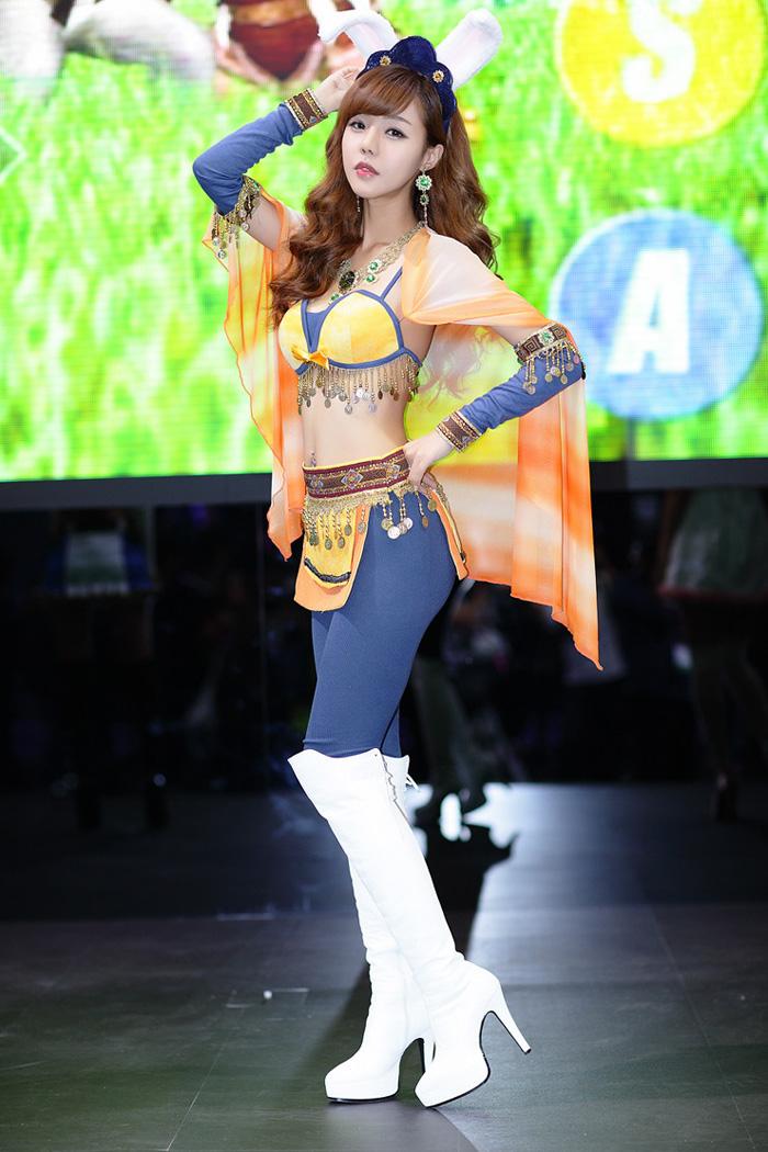 Showgirl G-star 2012: Seo Ji Ah - Ảnh 161