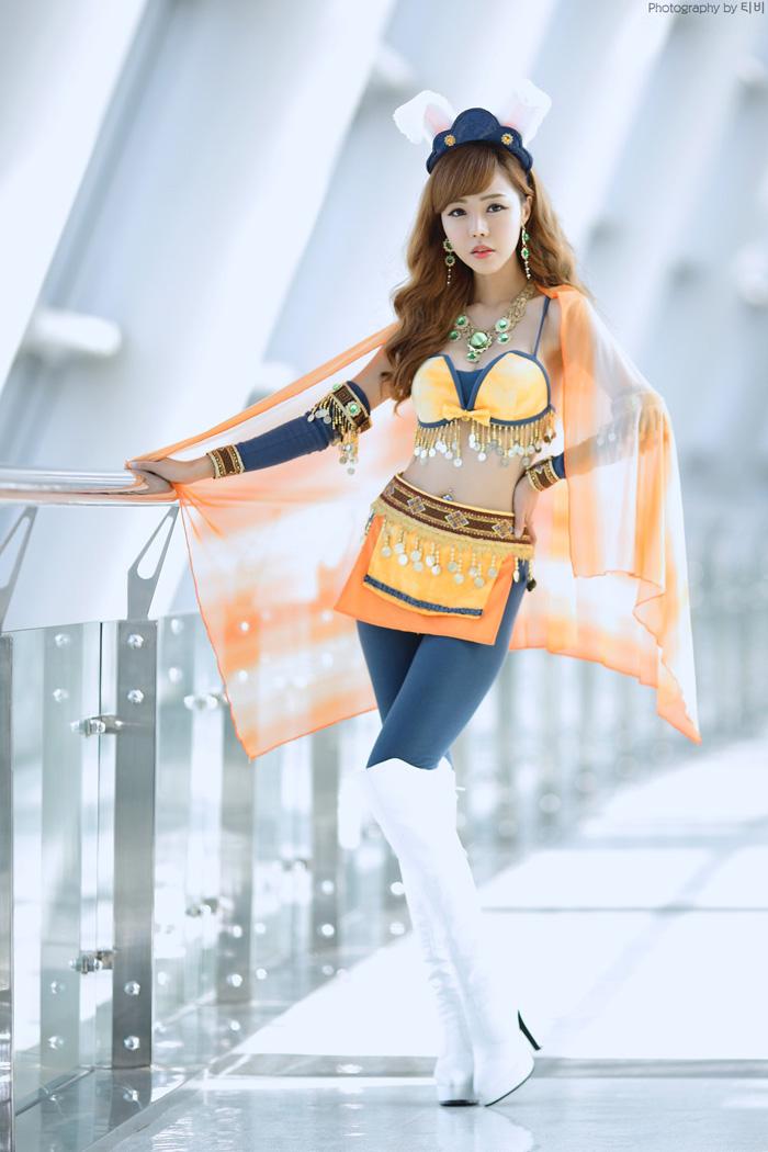 Showgirl G-star 2012: Seo Ji Ah - Ảnh 163
