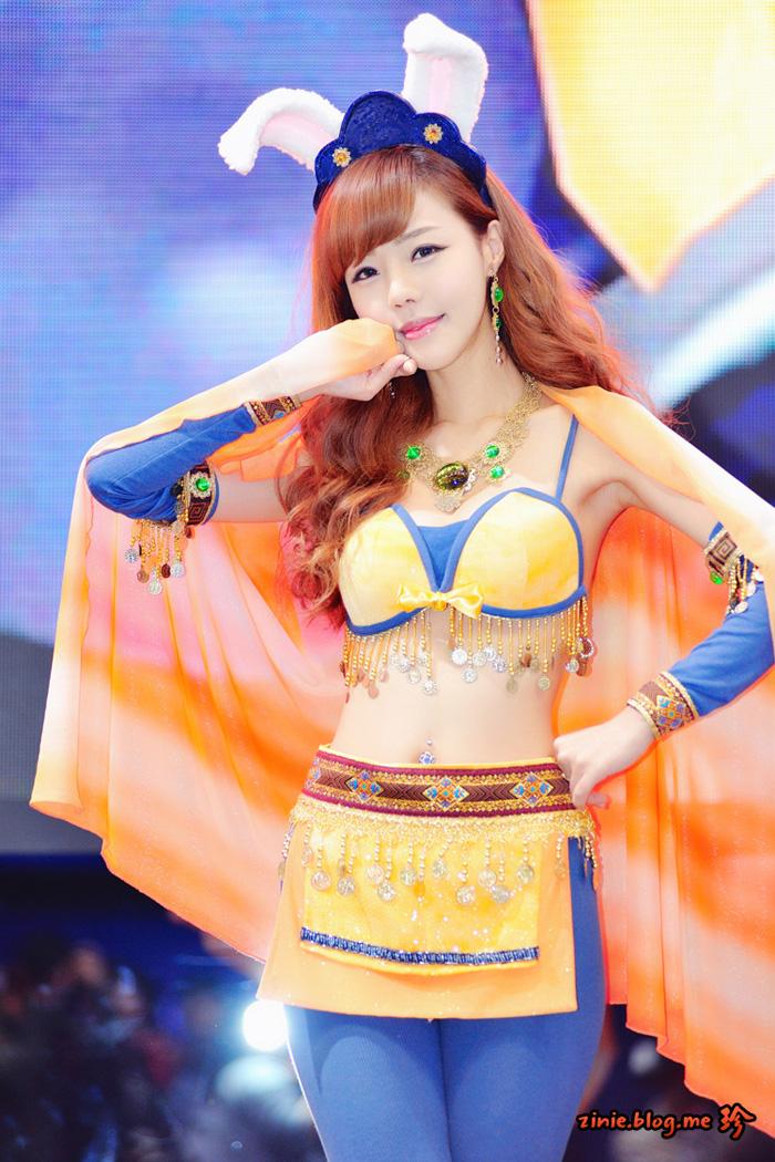 Showgirl G-star 2012: Seo Ji Ah - Ảnh 18