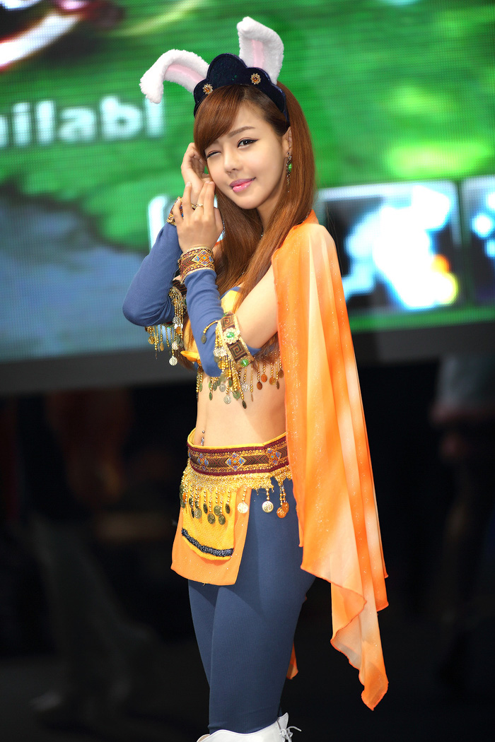 Showgirl G-star 2012: Seo Ji Ah - Ảnh 184