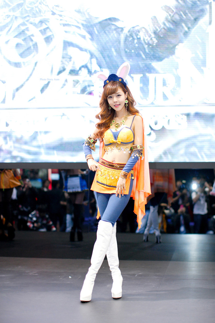 Showgirl G-star 2012: Seo Ji Ah - Ảnh 193